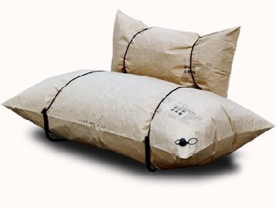 Sofá inflável para acampamento