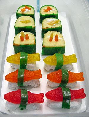 Balas de sushi