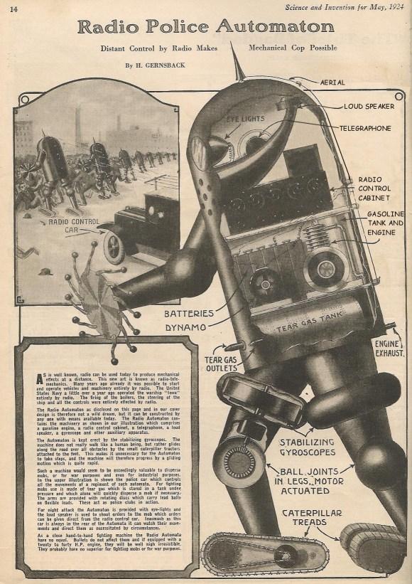 Robô do passado
