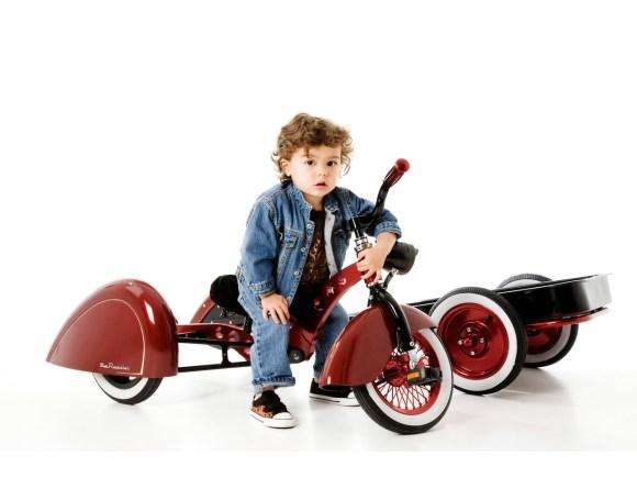 Bicicleta retrô infantil