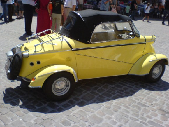 Messerschmitt tg500 tiger carro antigo