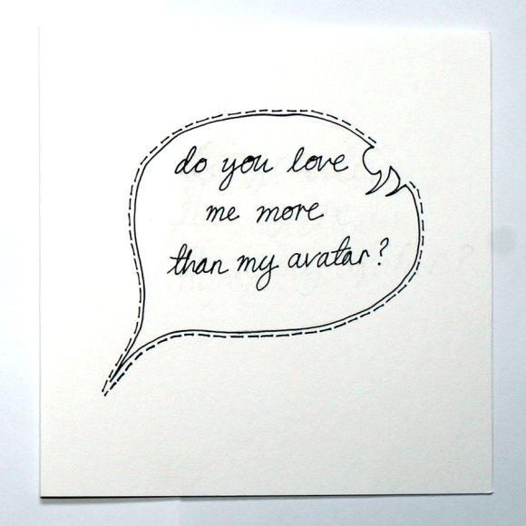 Cartão Geek para o Dia dos Namorados