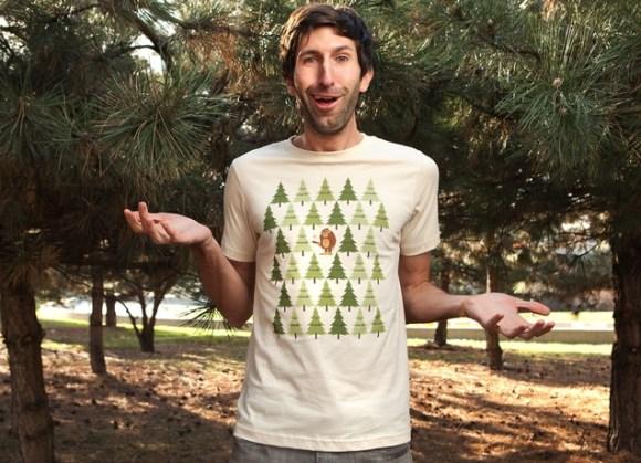 Camisa criativa para presentear