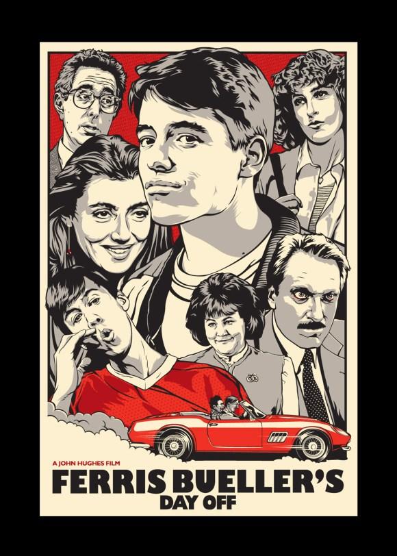 Curtindo a vida adoidado - Ferris Buellers Day Off - poster