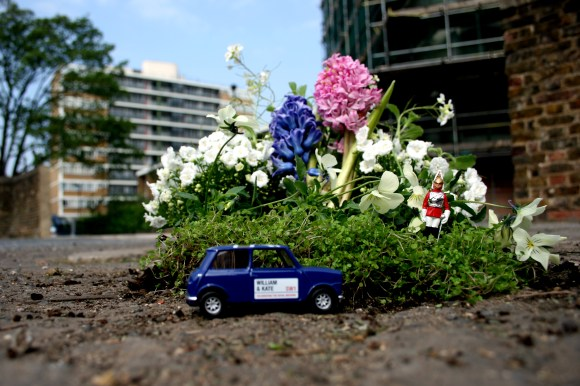 Mini jardim mini carro
