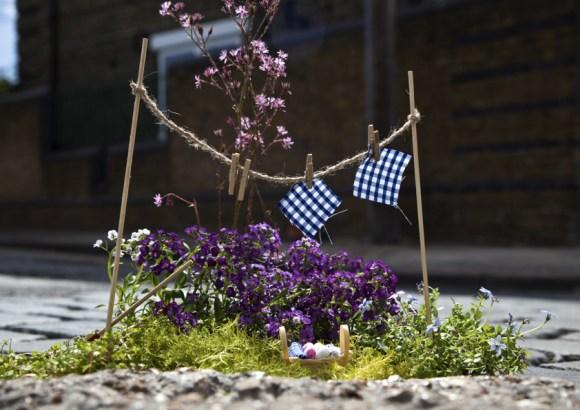 Mini jardim varal