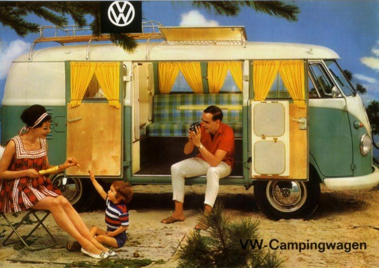 Volkswagen Kombi Camping Wagon