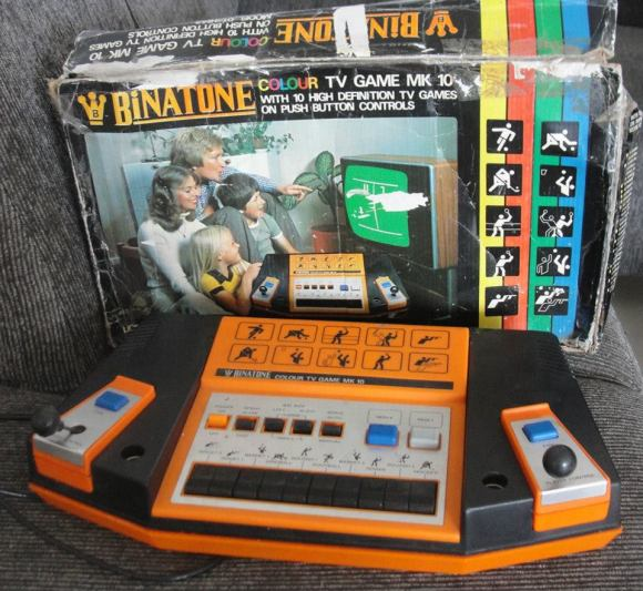 Videogame antigo - Binatone Colour TV Game - Inglaterra