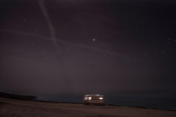 A Van in the Sea 11, Praia do Malhaò
