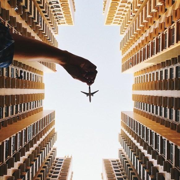 Fotos em perspectiva pegando aviões (1)