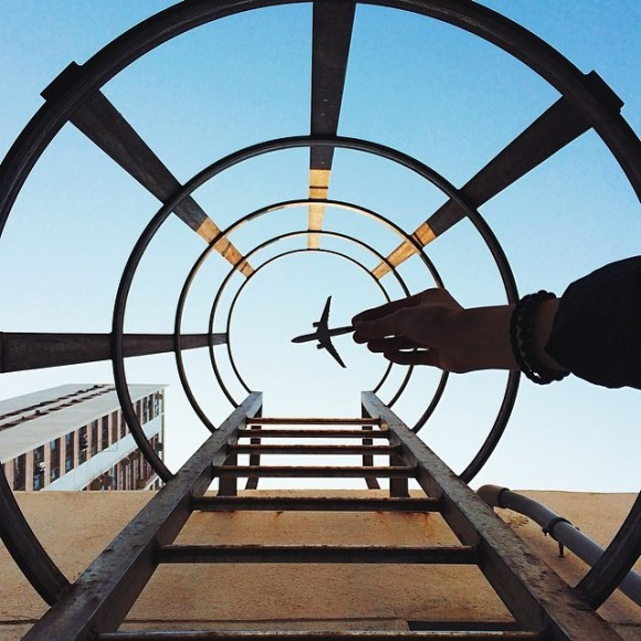 Fotos em perspectiva pegando aviões (2)