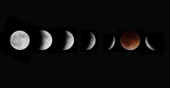 Lua vermelha - Lua de sangue - eclipse da lua (3)