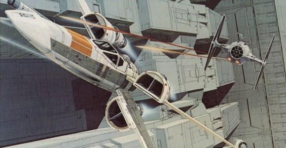Star Wars: veja os incríveis desenhos conceituais que deram origem à saga