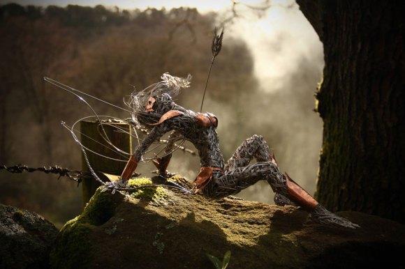 Esculturas fantásticas - contos de fada (9)