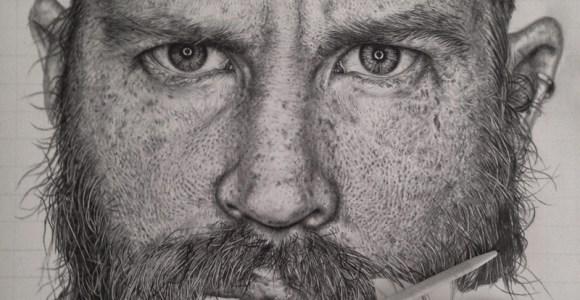 Artista cria desenhos hiper-realistas apenas com lápis