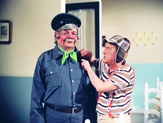 Fotos raras - Chaves e Chapolin (28)