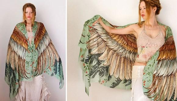 lenço pássaros 2