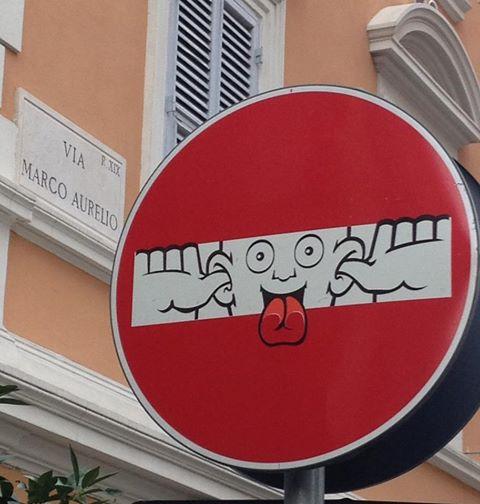 Street art - clet - 15
