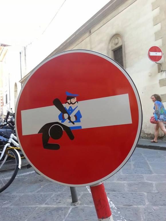 Street art - clet - 9