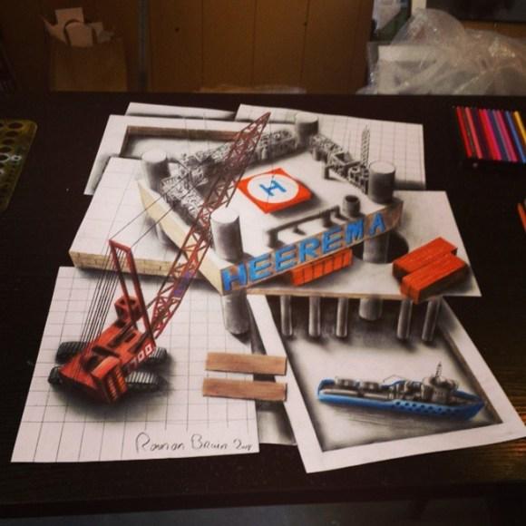 desenhos 3d - 6