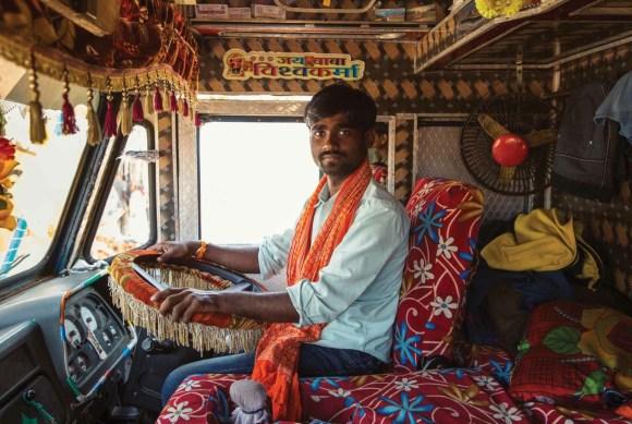 Caminhões decorados da Índia - 14
