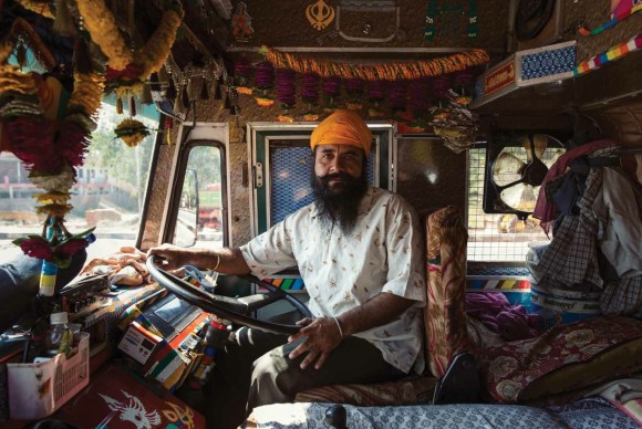 Caminhões decorados da Índia - 27