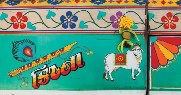 Caminhões decorados da Índia - 29