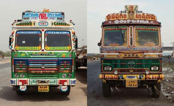 Caminhões decorados da Índia - 3