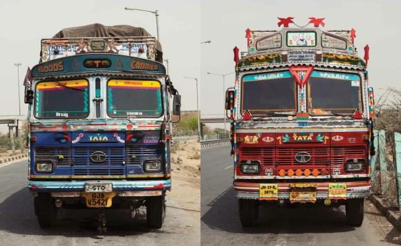 Caminhões decorados da Índia - 6