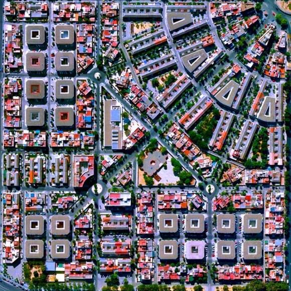 Gran Plaza - Sevilha - Espanha - Fotos aéreas