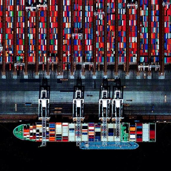Porto de Roterdã - Holanda - Fotos aéreas