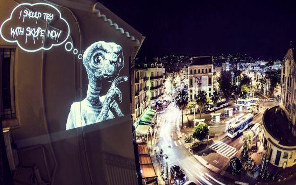 Projeções - Street Art 3