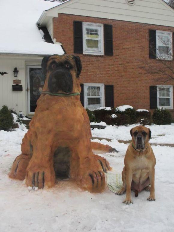 Animais de neve 4