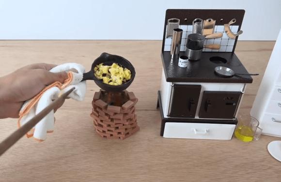 mini café da manhã