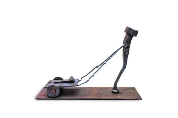 Escultura de parafuso 9
