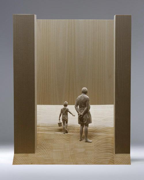 Esculturas hiper-realistas em madeira - PeterDemetz 11