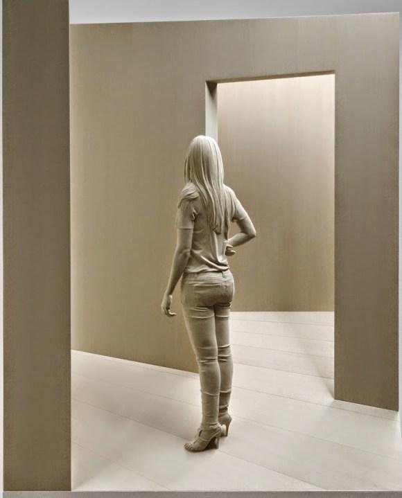 Esculturas hiper-realistas em madeira - PeterDemetz 4