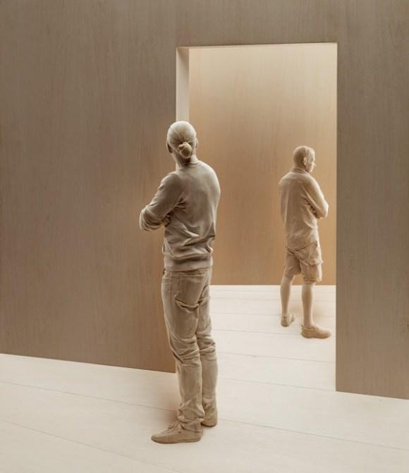 Esculturas hiper-realistas em madeira - PeterDemetz 5