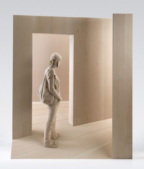 Esculturas hiper-realistas em madeira - PeterDemetz 6