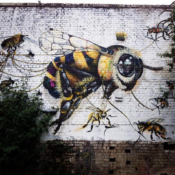 Grafite abelhas 9