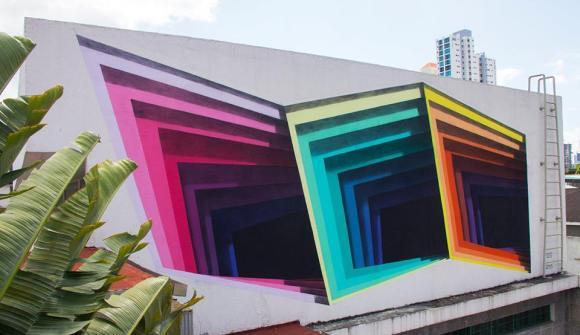 Grafite - buraco 3D 1