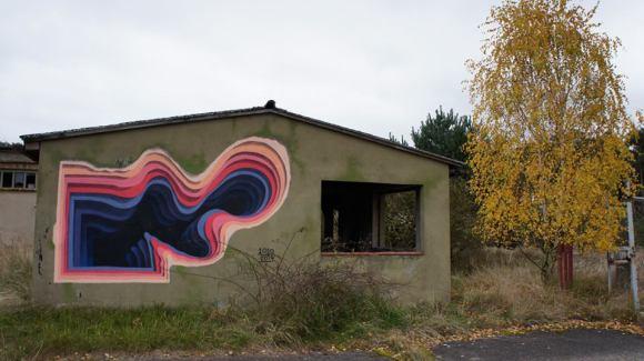 Grafite - buraco 3D 4