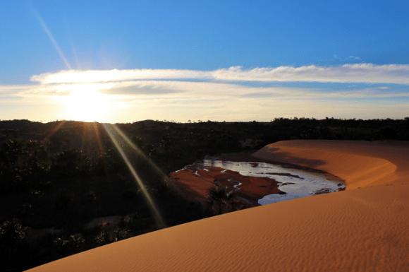 02 Pôr do Sol nas Dunas do Jalapão - Tocantins