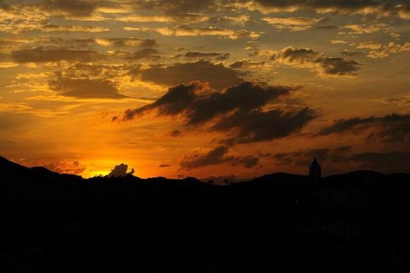 07 Pôr do Sol em Ouro Preto - Minas Gerais