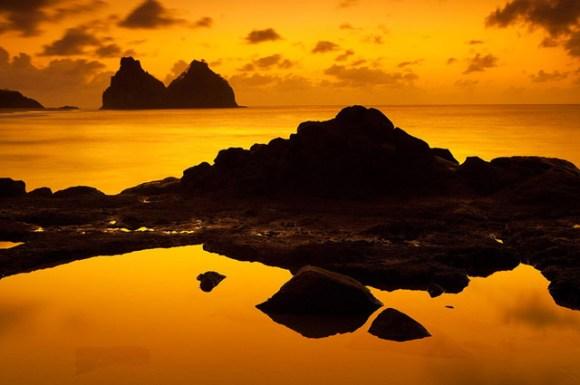 09 Pôr do Sol na Baía dos Porcos - Fernando de Noronha - Pernambuco