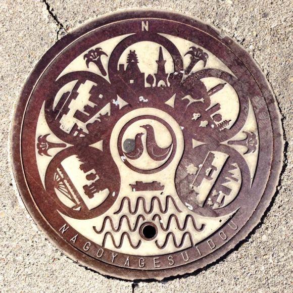 Bueiros no Japão 20