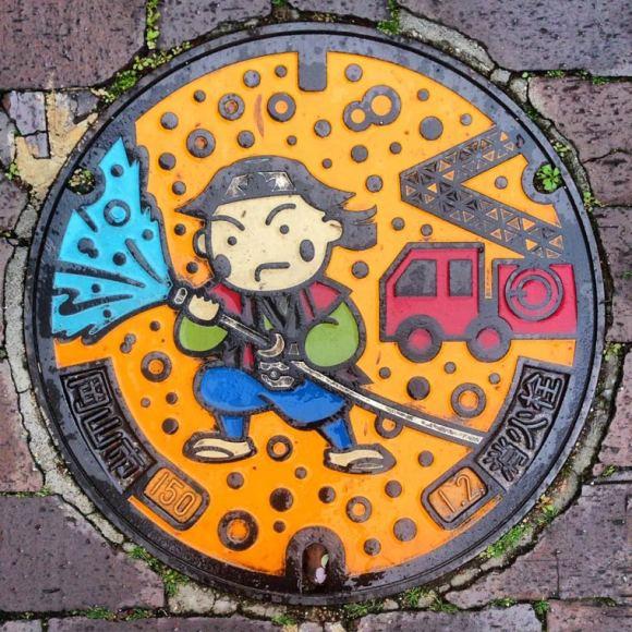Bueiros no Japão 5
