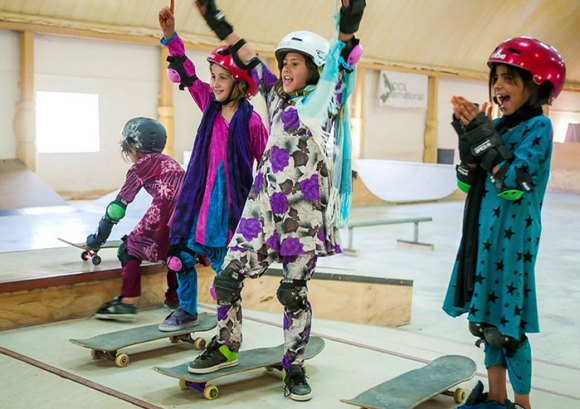 Garotas Skatistas Afeganistão 12
