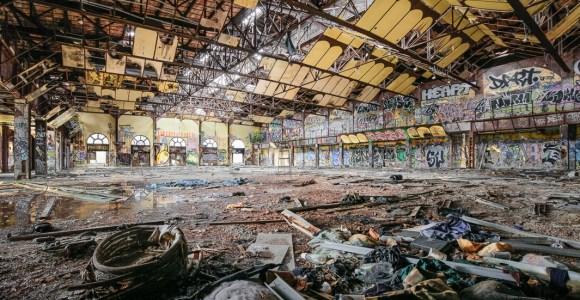 Fotografias de lugares abandonados revelam uma Nova York como nunca vimos!