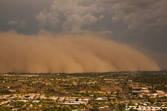 Tempestade de areia 14